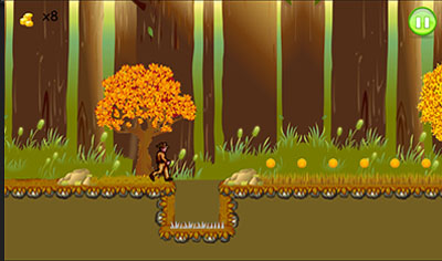 گرفتار در جنگل